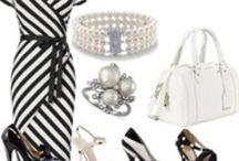 Blanco y Negro | Black & White | Preto e Branco / La decoracion de bodas en blanco y negro es clasico y lujoso. Inspirate con estas invitaciones, vestidos de novia, decoraciones de mesa, y dulces para tu casamiento! / by CasarCasar - Portal de Novias