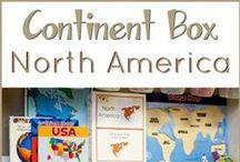 Continent Box ~ North America