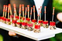 Catering | Buffet para Casamientos / Ideas de menu de Catering para tu dia. Platos principales, bebidas, tragos, postres, finger food y diferentes opciones para agasajar a tus invitados! / by CasarCasar - Portal de Novias