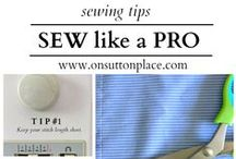 sewing, sewing, sewing... / sewing tips and ideas