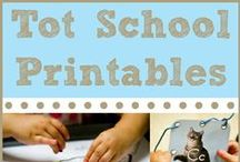 "Tot School Printables  / This is a shared board for bloggers who use my Tot School Printable program and blog about it!  Pinners ~ please only pin from your own blog and be sure to label what unit you are pinning {""Tot School Printables Letter M is for Mouse from ________""} to make it easy for others to scroll through and find ideas!  New to Tot School Printables?  See the intro post here http://www.1plus1plus1equals1.net/2011/03/tot-school-printables/ and see our posts pinned in ABC order at the BOTTOM of this board!"