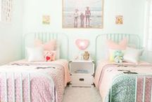 Kids Spaces / Fun and pretty kids spaces. Beds, cribs, special builds, closets, storage, lighting and all things to keep children's rooms comfy and fun.