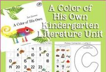 Kindergarten Literature Unit Ideas ~ A Color of His Own / Printables, Crafts, and ideas for Kindergartners all centered around the book, A Color of His Own.