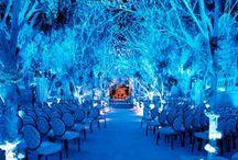 Boda Azul | Casamento Azul / Si deseas una fiesta elegante, una boda azul es la temática ideal para ti! Eres una novia sofisticada y junto a tu media naranja son dueños de un estilo chic inigualable. Inspirate en estas fotos fabulosas! / by CasarCasar - Portal de Novias