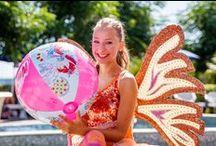 Un magico agosto con le Winx / Le Winx hanno fatto le vacanze di agosto al Blu Suite Hotel, per far divertire tantissime bambine con idee ed attività magiche!
