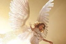 Angels / Whether you believe or not, may these ethereal beings give you a little lift