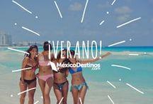 Primavera - Verano / Disfruta tus vacaciones en algún rincón de México ¡Ahora es la oportunidad de conocer aquel lugar que tanto has soñado! #ViveElVerano