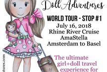 Doll Adventures / Creating an immersive girl+doll travel experience.  Your ticket includes admission to all of the special cruise events and customized group shore excursions.  Your little princess will be in doll-heaven as she travels through Europe with her best friend.