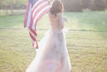 Patriot Shoot / Styled shoot
