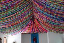 Bright & Bold Wedding Ideas / Brightly colored weddings. Ideas and inspiration for a brightly colored or bold wedding.