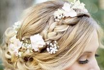 Wedding Hair / Hair inspiration for your wedding.
