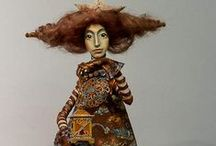 Mixed Media Art Dolls