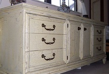 Crackle Painted Furniture