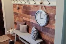 entryway ideas / by Tanya Christie