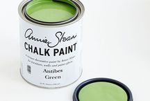 Antibes Green Chalk Paint® Decorative Paint / I'm green with envy & love all these pieces!