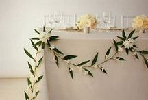 Table Garland / Wedding table garland, runners and decor