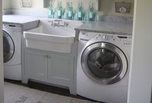 Laundry room / by Melissa Bonnell