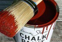 Burgundy Chalk Paint® decorative paint by Annie Sloan