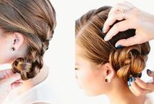 Hair inspiration / Tutorials for cute hairstyles