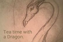 Tea time with a Dragon: dragon-making how-to's by Lilac Grove / This is my personal work-in-progress board. It's both a way for me to, visually, track my progress on various papier mache sculpts and projects and follow up on inquiries about my methods. Too often I start them and then they sit for a long time before I finish them. I'm simply hoping this will help remedy that - plus I get to share what it takes to create my pieces, from start to finish.