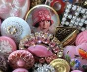 Crafty - Buttons / Buttons, retro, vintage ephemera, button cards, storage ideas, craft ideas..