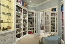 "DECORATE: Closet / ""Just get me a really, big closet"" / by Dawn Oxnard"