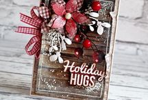 Cards Etc. - Christmas / Christmas & winter cards, tags, inchies, ATCs. New Year's