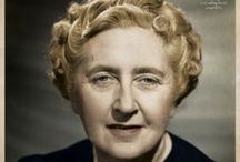 Agatha Christie / Queen of Crime! My all time fav author. Have all her books in one form or another and read several times over the years!