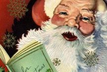 Christmas - Santa Baby / Vintage, retro, old, new, paper, plastic; anything and everything Santa!