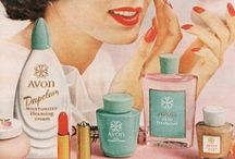 Avon Calling! / Ding Dong, Avon Calling! Vintage Avon collectables. Mom was a big Avon fan. Her friend down the street sold Avon, and would come over with her big suitcase full of cool stuff. this was in the late '60s. Have a few things, but wish I would've told her to keep it all!