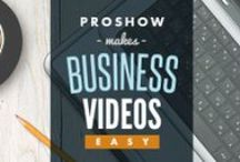 Business Video Slideshows / Inspiring examples of business video slideshows made in ProShow.
