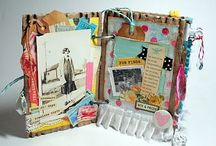 Albums - Junk Journals, Smash Books... / Smash books, junk or junque journals, affirmation albums, glue books...Ideas and inspirations! A visual diary