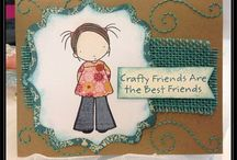 Cards Etc. - Crafty Friends / Fabulous creative art from my crafty gal pals at The Cutting Garden Papercraft Studio in Halifax NS. Cards, tags, mixed media, scrapbook layouts....