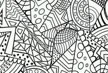 Colour My World - Colour Therapy / Products. Tips & Techniques for coloured pencils, watercolour pencils, general watercolour techniques, and regular pencils! Colouring book pages too!