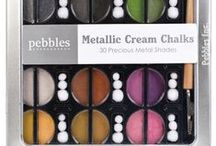 Crafty - Chalks... / Chalk products, tips, and techniques. I have the Pebbles Chalks. Also pastels. What is it? Tutorials, tips, how-to's