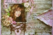 Artist - Gabrielle Pollacco / Beautiful stunning mixed media, layouts...  by Gabrielle Pollacco. Awe inspiring! Such A Pretty Mess, indeed! http://gabriellepollacco.blogspot.ca