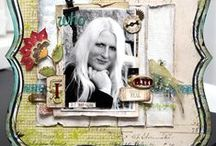 Artist - Ingvild Bolme / Beautiful shabby chic creations! Love her work! Fabulous inspiration!   www.ingvildbolme.com