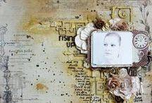 Artist - Nadia Cannizzo / Beautiful Shabby Chic! Love her creations! http://www.samnadia.blogspot.ca