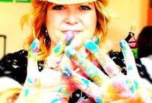 "Artist - Christy Tomlinson / Love her mixed media creations! So inspiring. Love her ""She Art"" http://www.christytomlinson.typepad.com"