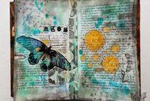 Artist - France Papillon / I LOVE her creative mind! Such an inspiration! http://www.france-papillon.com