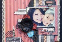 Artist - Arlene Butterflykisses / Love her creativity; mixed media, cards, scrapbook layouts and more! Fabulous inspiration! http://www.butterflykisseswithlove.blogspot.ca