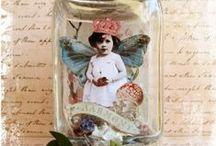 Altered States - Fairy Jars / Fairy jars, fairy cages, fairies on spools....