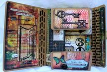 Albums - Collection Folios / Tim Holtz Collection Folios creations! Love the inspiration!