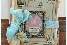 Artist - Tammy Tutterow Tutorials / Tammy's fabulous creations! Lover her art! http://tammytutterow.com