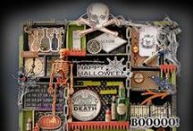 Configurations Box - Halloween / Configuration boxes, printer trays, shadow boxes