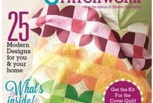 Magazines from Interweave / We supply individual copies, and subscriptions to Cloth Paper Scissors & Quilting Artsh.