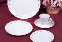 Belkraft / Porcelain china, Pirouette pattern. Sterless Tableware, Grander pattern (with storage case), & Oxford crystal. Patterns I have. Bought back in the 1970's.