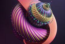 3D modeling & rendering inspiration