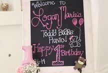 Teddy Bears Picnic Birthday Party / Teddy Bear Picnic First Birthday Celebration