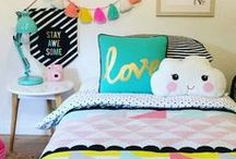 Colourful Girls Bedroom / Ideas and inspiration for Lj's new bedroom